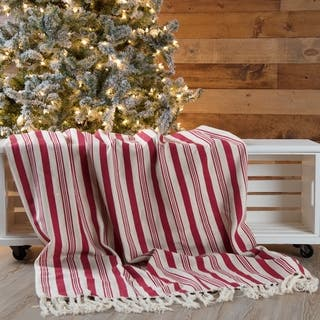 Shop Sevan Collection Knitted Christmas Design Throw