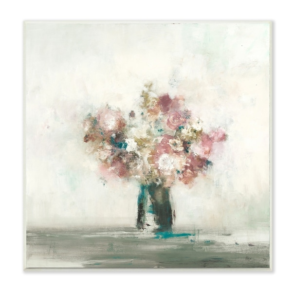 Shop The Stupell Home Dcor Collection Pink Flowers In A Vase