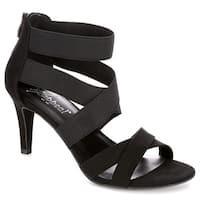 XAPPEAL Womens Elke High Heel Sandal Shoes, Black