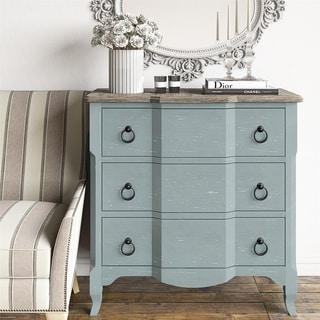 Avenue Greene Shubert Antique Teal Accent Chest
