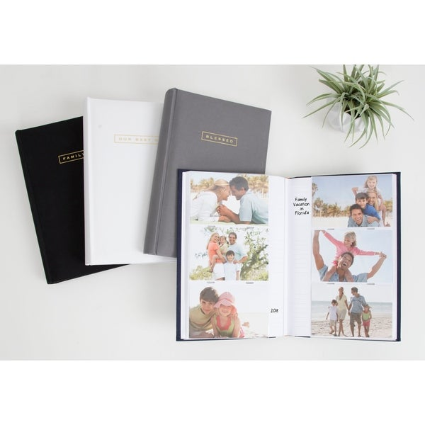 DesignOvation Sentiments Photo Album Set