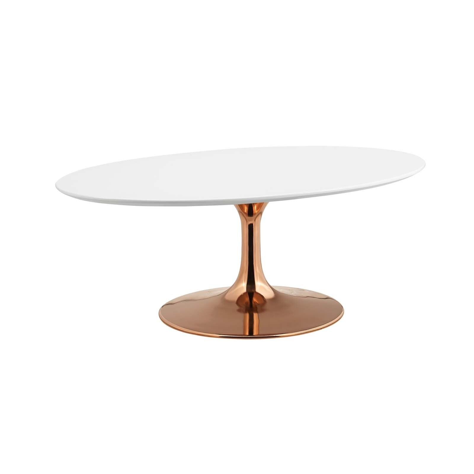 Lippa 42 Oval Shaped Coffee Table