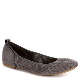 XAPPEAL Womens Clair Slip On Ballet Flat Shoes, Grey