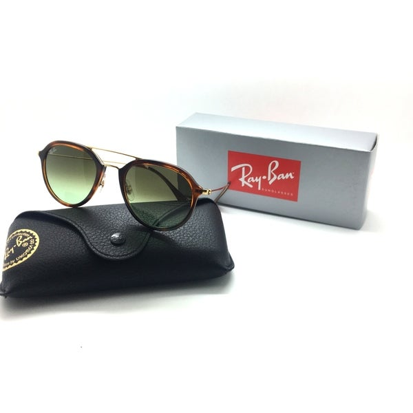 a431dad8653 Rayban sunglasses RB4253 820 A6 50mm Tortoise Green Gradient 4253 AUTHENTIC