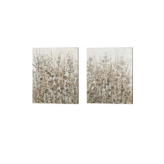 Timothy O'Toole 'Early Fall Flowers' Canvas Art (Set of 2)