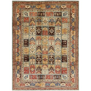 Hand Knotted Ariana Ziegler Wool Area Rug - 9' x 12'