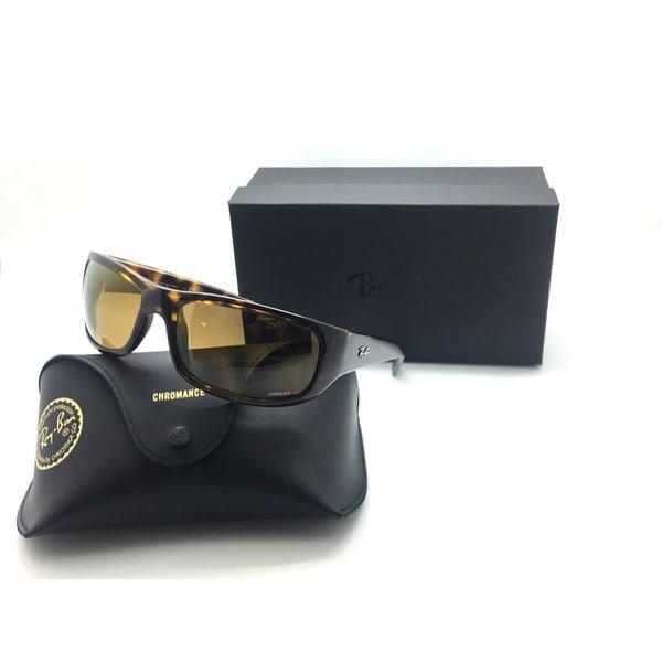 d4477ed00fe Rayban Sunglasses RB4283CH 710 A3 Tortoise Bronze Mirror Chromance Polarized