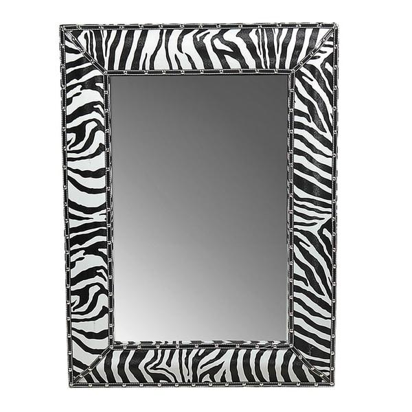 Shop Essential Decor Amp Beyond Zebra Black White Print Wall