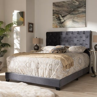 Contemporary Bed by Baxton Studio