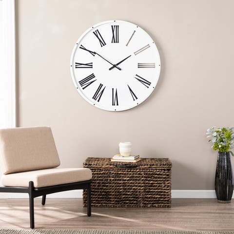 The Gray Barn Orchard Slope Oversized Wall Clock