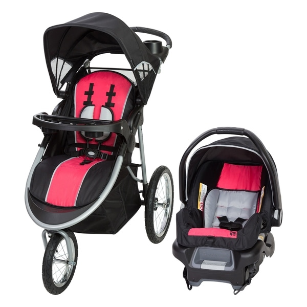 Baby Trend Pathway 35 Jogger Travel System,Optic Pink. Opens flyout.