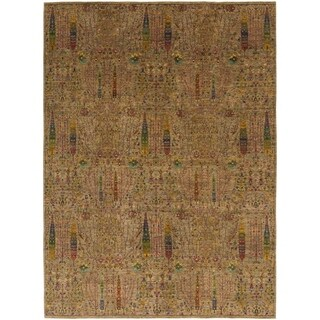 Hand Knotted Ariana Ziegler Wool Area Rug - 10' 3 x 13' 10