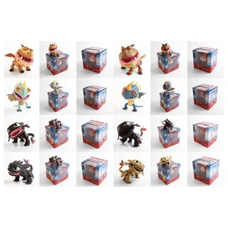 The Loyal Subjects Action Vinyls How to Train Your Dragons (Dragons) Wave 1 Individual Blindbox Action Figure (Window box)