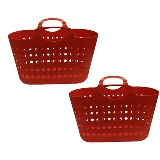 Red Flex Tote, 2 Pack