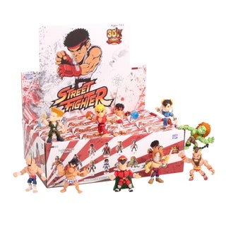 The Loyal Subjects Action Vinyls Street Fighter Wave 1 Individual Blindbox Action Figure