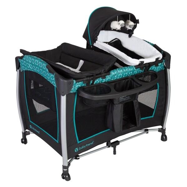 Shop Baby Trend Resort Elite Nursery Center Helix Free