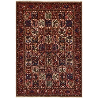 Hand Knotted Bakhtiar Wool Area Rug - 7' x 10' 3