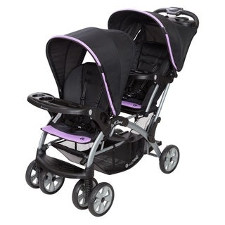 Baby Trend Sit n Stand Double Stroller,Optic Violet