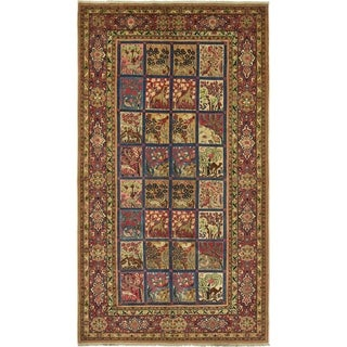 Hand Knotted Bakhtiar Antique Wool Area Rug - 6' 10 x 12'