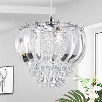 Elfman 1-light Crystal Hanging Pendant