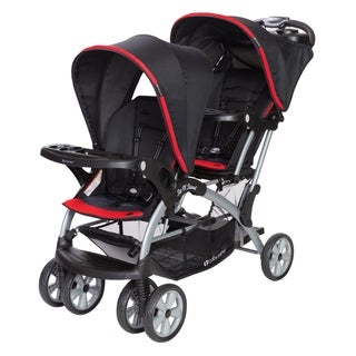 Baby Trend Sit n Stand Double Stroller,Optic Red
