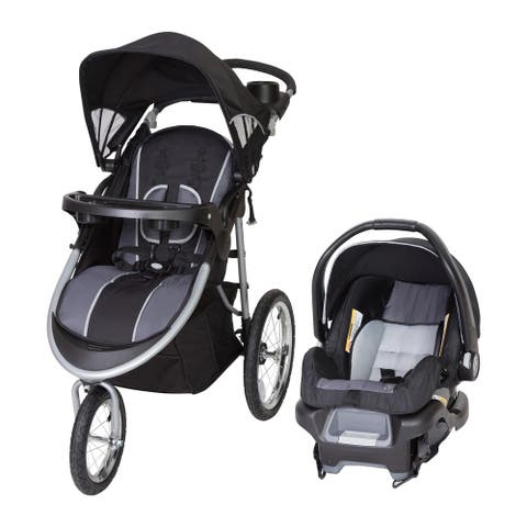 Baby Trend Pathway 35 Jogger Travel System,Optic Grey