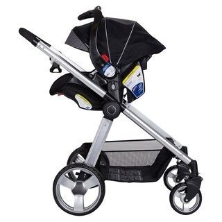 Shop Baby Trend Black And Silver Metal Universal Snap N Go