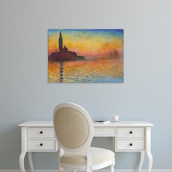 Easy Art Prints Claude Monet X27 S San Giorgio Maggiore