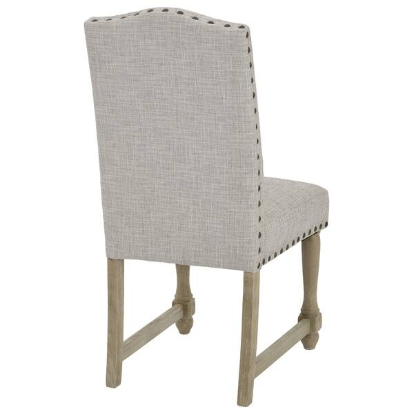 Awe Inspiring Shop Osp Home Furnishings Kingman Dining Chair With Nailhead Machost Co Dining Chair Design Ideas Machostcouk