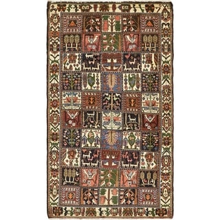Hand Knotted Bakhtiar Wool Area Rug - 5' 3 x 9' 5