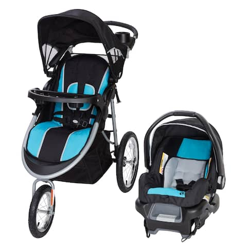 Baby Trend Pathway 35 Jogger Travel System,Optic Aqua