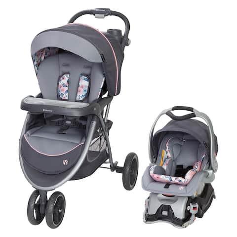 Baby Trend Skyview Plus Blue Bell Travel System Stroller Set