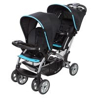 Baby Trend Sit n Stand Double Stroller,Optic Aqua