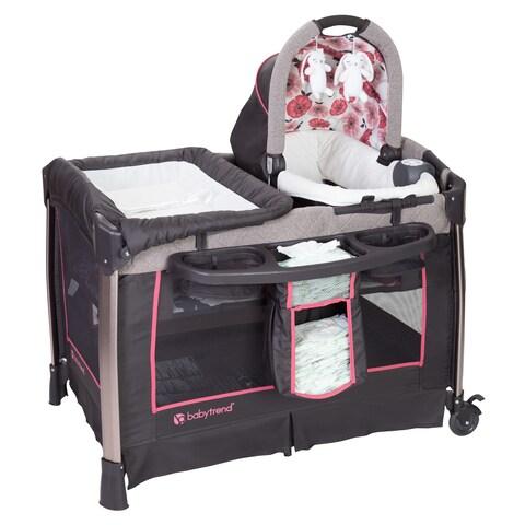 Baby Trend Go-Lite ELX Nursery Center,Rose Gold