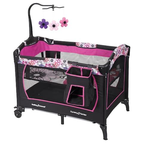 Baby Trend Trend Nursery Center,Floral Garden