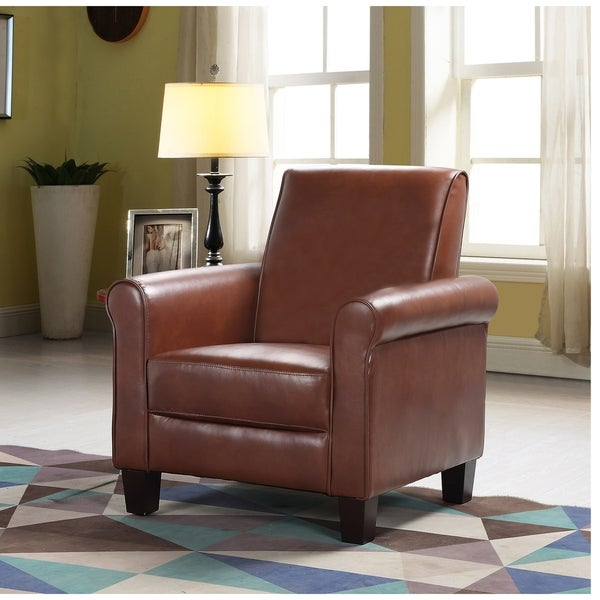 Charmant Best Master Furniture Faux Leather Upholstered Accent Arm Chair