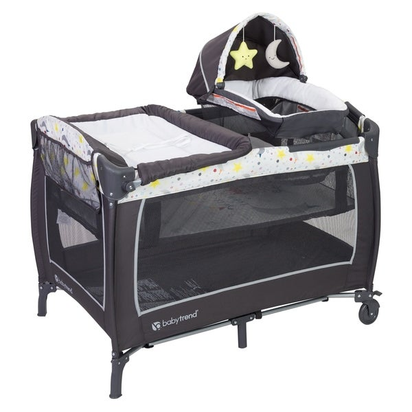 Shop Baby Trend Lil Snooze Deluxe Nursery Center Twinkle