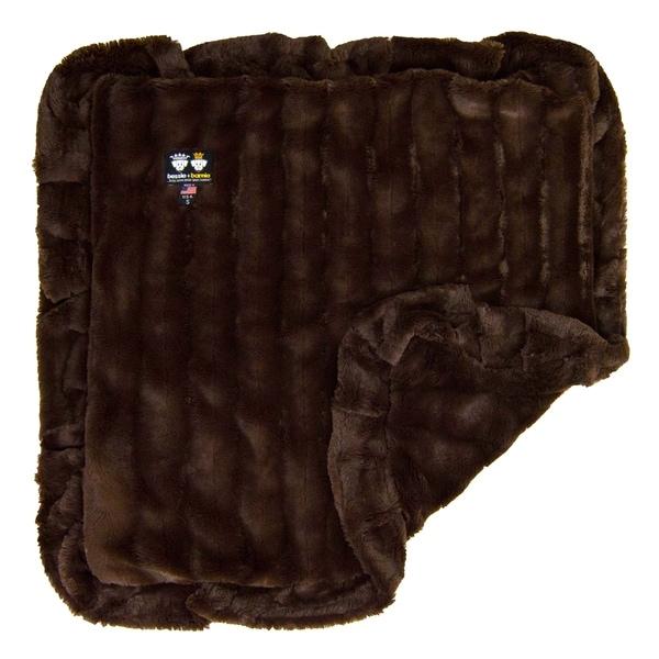 Bessie and Barnie Ultra Plush Godiva Brown Luxury Dog/ Pet Blanket. Opens flyout.