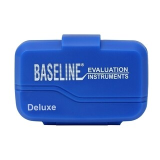 Baseline® Deluxe Pedometer, Step, Distance, Calorie, Activity Time, Includes Strap