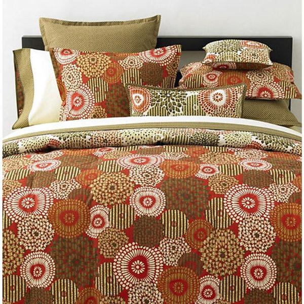 Echo Home Batik Bloom 7-piece Bedding Ensemble
