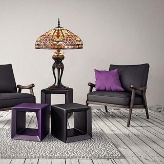 Tiffany-style Emperor Table Lamp