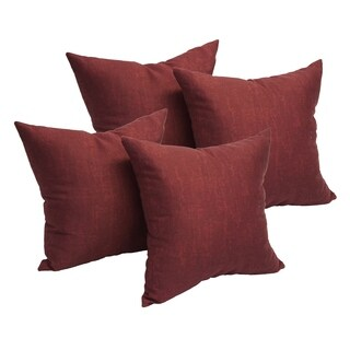 Cranberry 17-inch Accent Throw Pillow (Set of 4)