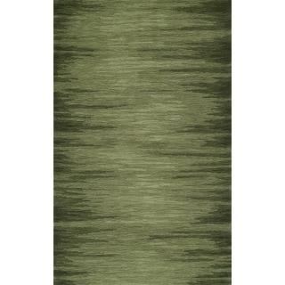 """ADDISON Elyria Modern Lines Shades of Green Area Rug 5'X7'6"""" - 5' x 7'6"""""""