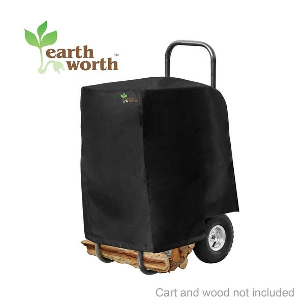 Earth Worth Firewood Log Cart Cover Only