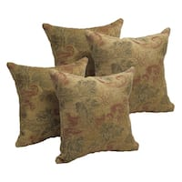 Autumn Leaves 17-inch Accent Throw Pillow (Set of 4)