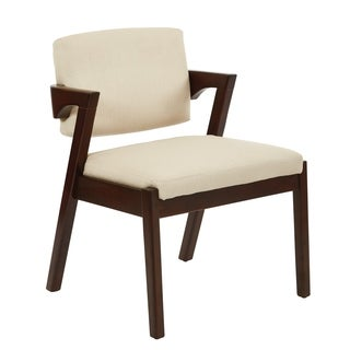 Ave Six Mid-Century Elin Chair with Walnut Finish
