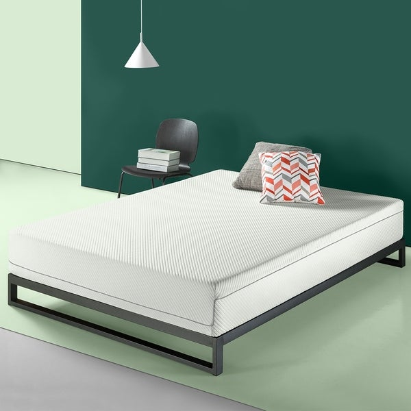 Shop Priage By Zinus 10 Inch Charcoal Memory Foam Mattress
