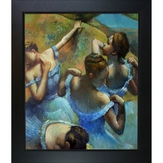 Edgar Degas 'Blue Dancers' Hand Painted Oil Reproduction