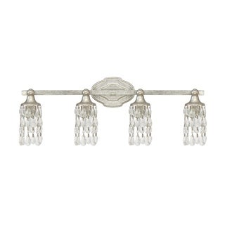 Capital Blakely 4-light Antique Silver Bath/Vanity Fixture