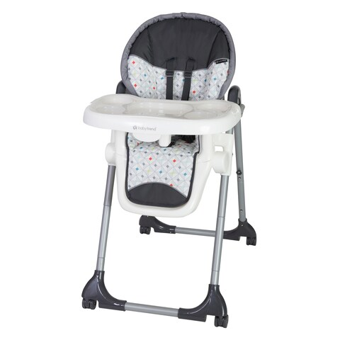 Baby Trend Deluxe 2 in 1 High Chair,Diamond Geo